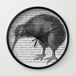 Curious Kiwi Wall Clock
