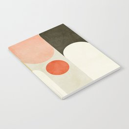 geometry abstract pastel Notebook