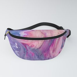 ultra violet marble fun Fanny Pack