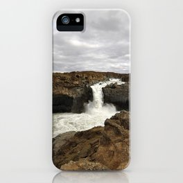 Aldeyjarfoss. iPhone Case