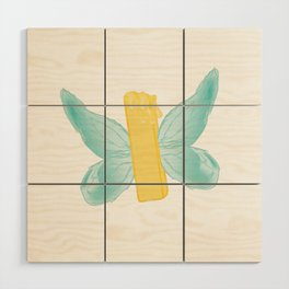 BUTTER-FLY Wood Wall Art