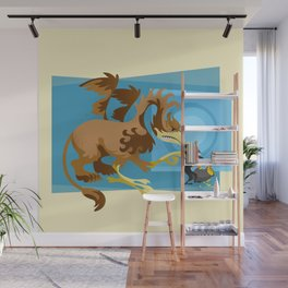 Year of the Griffin Wall Mural