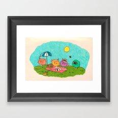 Pelu's Spring Framed Art Print