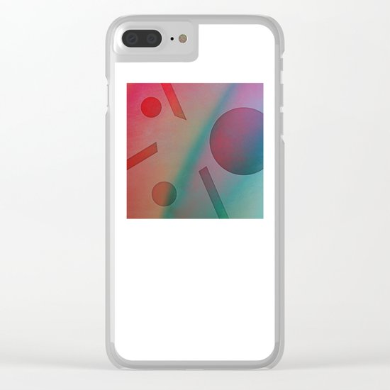 NO EFFORT Clear iPhone Case