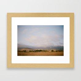 Coast of California [II] Framed Art Print