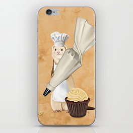 Ferret and Frosting iPhone Skin