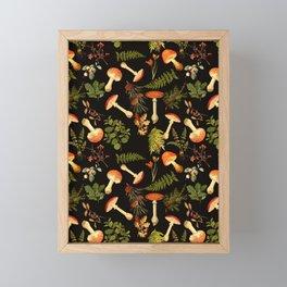 Vintage & Shabby Chic - Night Forest Garden Framed Mini Art Print