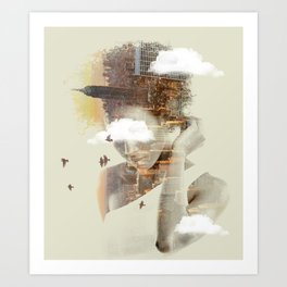 New York City dreaming Art Print