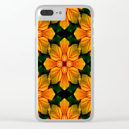 Tropical Garden of Love... Clear iPhone Case
