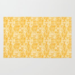Color Spheres - Yellow Rug