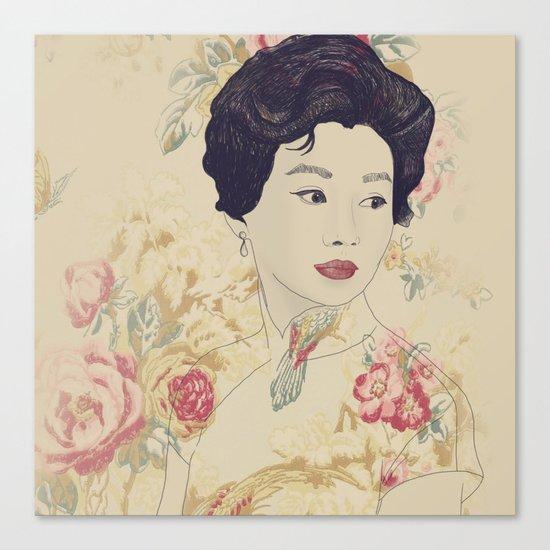 Mrs. Chan Canvas Print