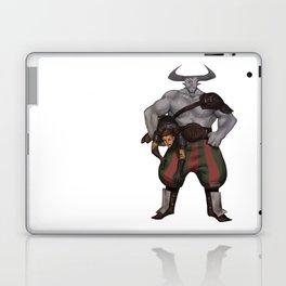 DA crew Iron bull Laptop & iPad Skin