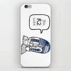 R2CUTIE iPhone & iPod Skin