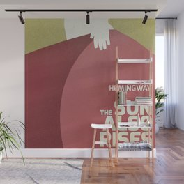 The sun also rises, Fiesta, Ernest Hemingway, classic book cover Wall Mural