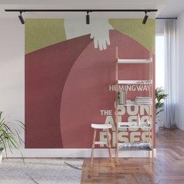 The sun also rises, Fiesta, Ernest Hemingway, classic book cover Wall Mural