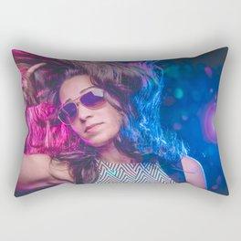 disco feelin Rectangular Pillow