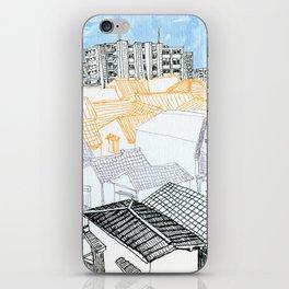 Tokyo landscape iPhone Skin