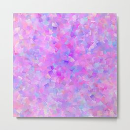 Funfetti (Preppy Abstract Pattern) Metal Print