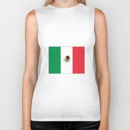 mexican's flag Biker Tank