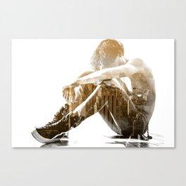 Desertion Canvas Print