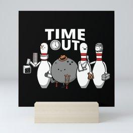 Time Out Mini Art Print