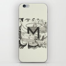 M is for Martini iPhone & iPod Skin