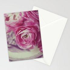 Pink Ranunculus  Stationery Cards