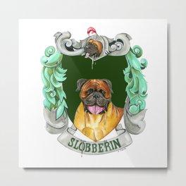 Dogwarts Slobberin Metal Print