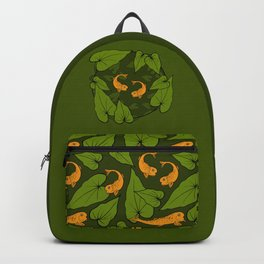 Koi Pond Pattern Backpack