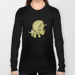 Cute Triceratops Long Sleeve T-shirt