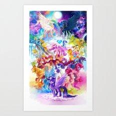 MLP my little pony Art Print