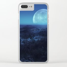 Desert Dream Clear iPhone Case