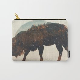 Veluwe: European Buffalo Carry-All Pouch
