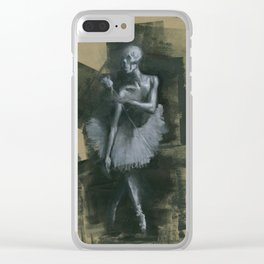 The Dark Dancer Clear iPhone Case