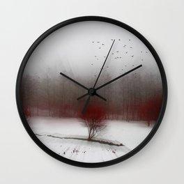 Heart of Winter I Wall Clock