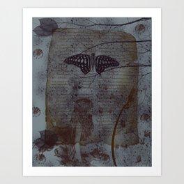 "'Fairy In The Wood"" Art Print"