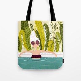 La piscine Tote Bag