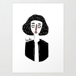 GIRL I Art Print