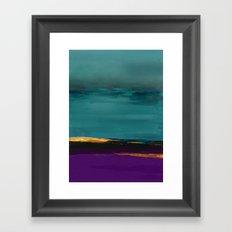 DUNES - Abstract landscape Framed Art Print