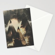 The mountains are awake Stationery Cards