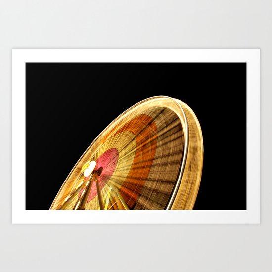 wheel I Art Print