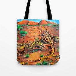 'Wanderlust' 11''x14'' Color Pencils and Acrylic on Bristol Board 2013 Dan Gribben Tote Bag