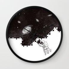 SOLVING THE BIG PUZZLE Wall Clock