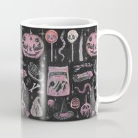 loll3 Mugs featuring Trick 'r Treat by lOll3