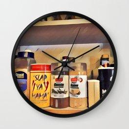 Louisiana Pantry Wall Clock