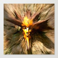 scary Canvas Prints featuring Scary by ColinBoylett