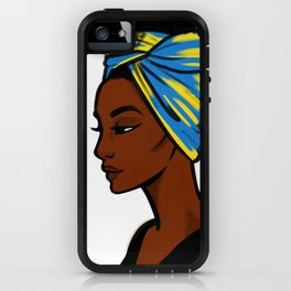 Scarves: Blue iPhone Case