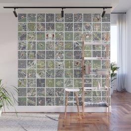 20 cities 20 Wall Mural