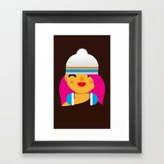 B-Girl Framed Art Print