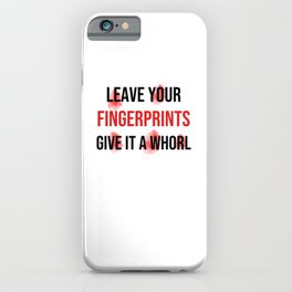 Forensic Scientist | Forensic Science Investigator iPhone Case
